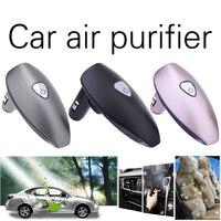 Car Interior Odor Removal Anion Fragrance Diffuser With 2 USB Charging Port Auto Car Fragrance Spray