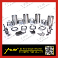 For kubota engine parts V2203 piston 1J881-21111  liner kit with bearing valve guide seat