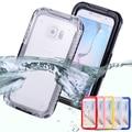 Сумка Для Samsung Galaxy S3 S4 S5 Note 4 5 S7 S7 Края S6 Edge Plus Водонепроницаемый Случаи Ясности TPU Hybrid Плавание Dive Case Телефон Case