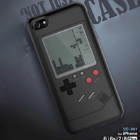 Inizeal Gameboy Tetris Game Case Phone Cases For IPhone 6 6s 7 7plus 8plus X Play