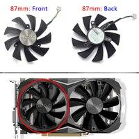 87MM GA91S2H GA92S2U 0.35A Cooler Fan Replacement For ZOTAC GTX 1070Ti 1080Ti MINI GPU Video Card Cooling Fan