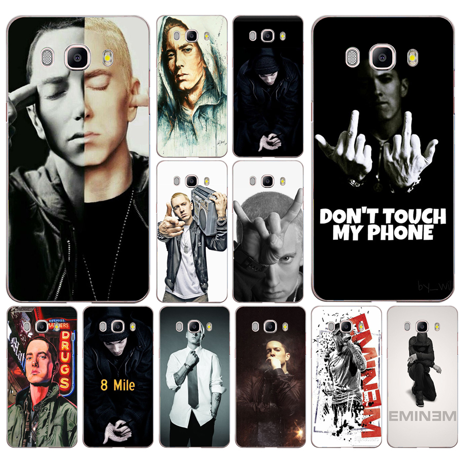 139df Hip Hop Rapper Eminem Rap Hard Transparent Case Cover For Samsung Note 4 8 For Galaxy A3 A5 2017 J3 J5 J7 2015 2016 2017 To Win Warm Praise From Customers