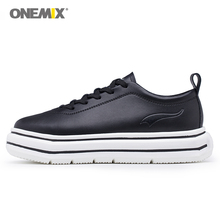 ONEMIX Women Sport Sneakers High Increasing Running Shoes for Walking Athletic Sneakers in Pink High Quality Skateboarding Shoe недорого