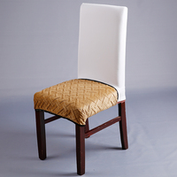 1 Piece Thick Chair Cover For Autumn Winter Comfortable Warm Chair Covers High Quality Soft Cushions