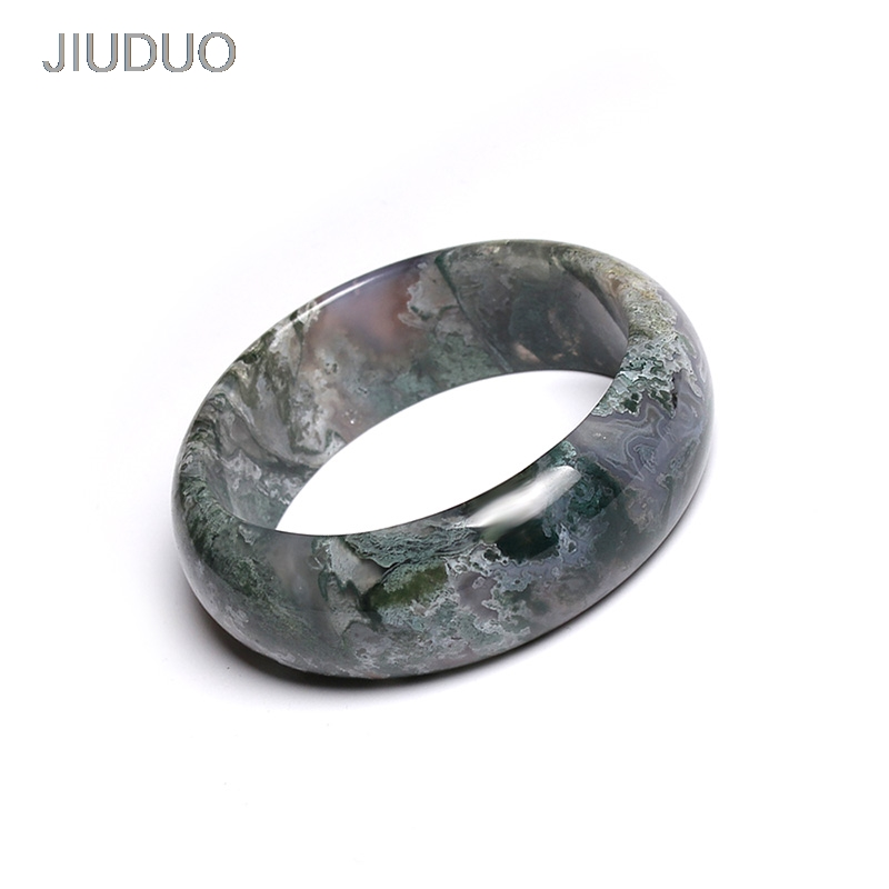 JIUDUO Free Shipping Natural Jade bracelets fine jewelry beads bracelet hand-carved elastic bracelets for women free shipping