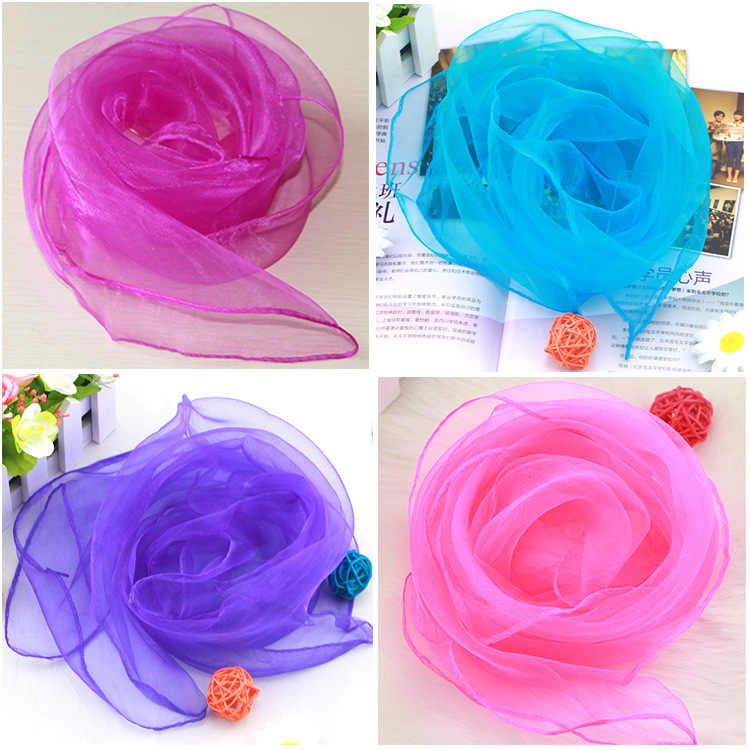 폭발 모델 60*60cm 단색 여성 스카프 여름 새 스타일 선글라스 태양 보호 shawls 비치 타월