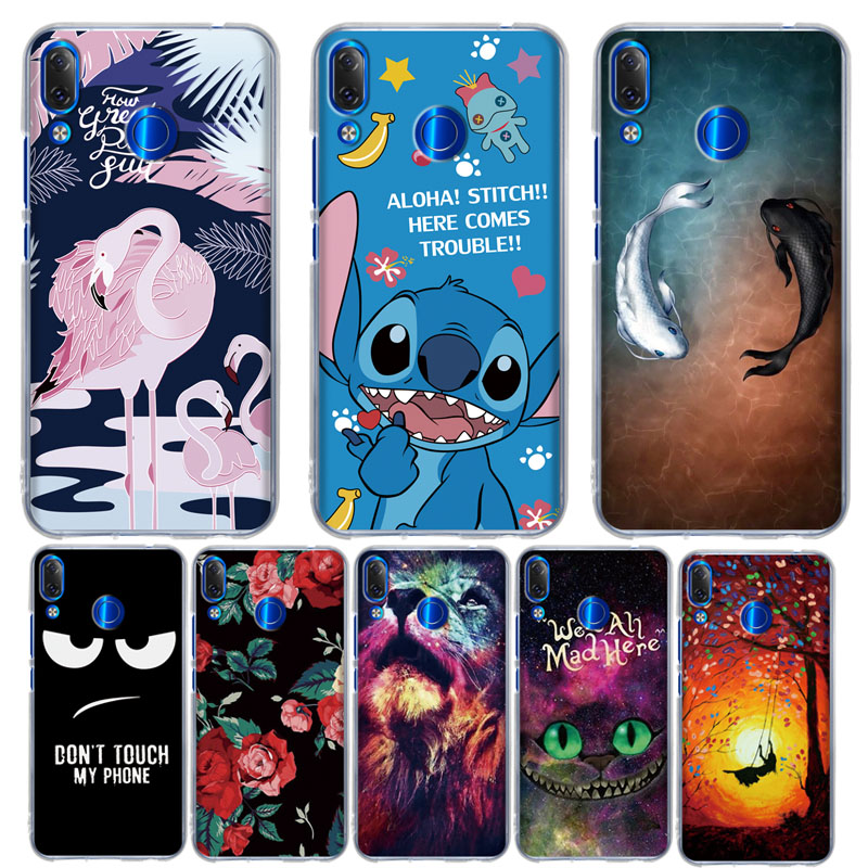 Silicone Cute Cartoon Painted Soft Case for Lenovo K5 Pro TPU Back Cover for Lenovo Z5 Pro / Z5 / K5 K350T / S5 Pro Phone Cases