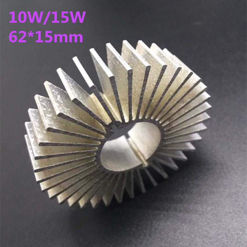 20pcs/lot LED Aluminum Heatsink LED Radiator For 10W 15W High Power Lamp DIY LED Cooler dissipador de calor UFO PCB Radiator