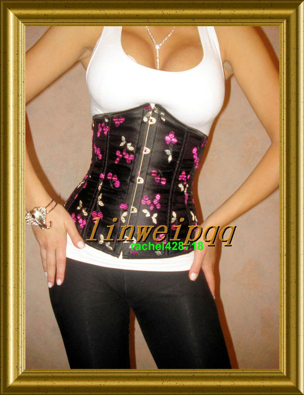 Sexy Lingerie Print Under Bust   Bustiers     corset   Clubwear S--L 2700