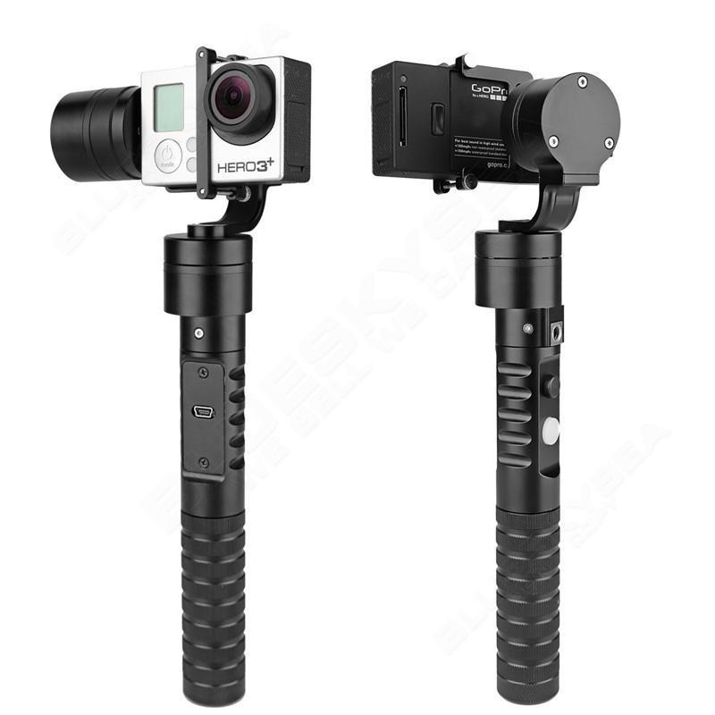 AFI VS-3SG 3-Axis Handheld Brushless Gimbal Stabilizer Camera Steady for GoPro Hero 4 3+ 3 Othe Similar Shaped Action Camer [hk stock][official international version] xiaoyi yi 3 axis handheld gimbal stabilizer yi 4k action camera kit ambarella a9se75 sony imx377 12mp 155‎ degree 1400mah eis ldc sport camera black
