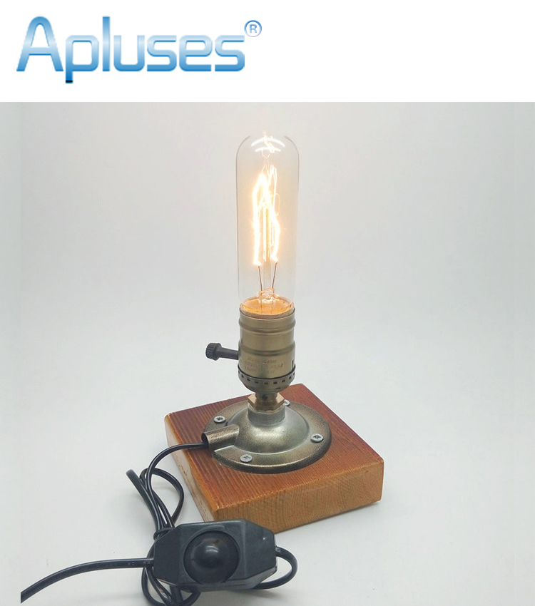 Hot Sale E27 110v 220v Industrial Retro Vintage Edison Table Lamp