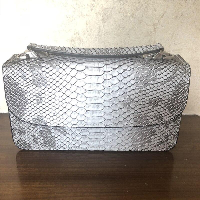 2018 New Women Handbags Gray Serpentine Chains Cover Shoulder Bags Messenger Bag Crossbody Flap Totes Ladies Handbag Wholesale стоимость