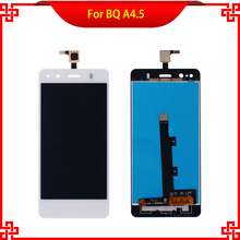 LCD Display Touch Screen Digitizer For BQ Aquaris A4.5 4.5Inch Discount Promotional White Replacement Mobile Phone LCDs
