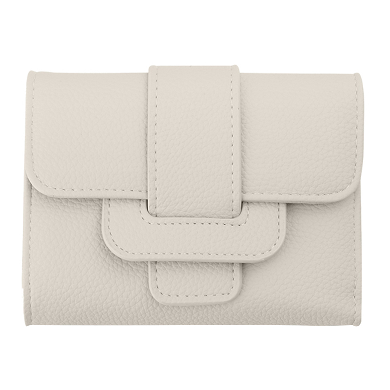 New Luxury Soft Leather Women Hasp Wallet Fashion Tri-Folds Clutch For Girls Coin Purse Card Holders Female Money Bag