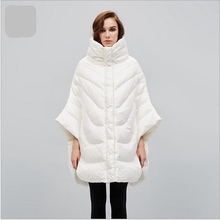 2017 Winter Women Coat High-quality White Duck Down Jacket Medium long Leisure Coat Large size High-collar Warm Down Coat AB257