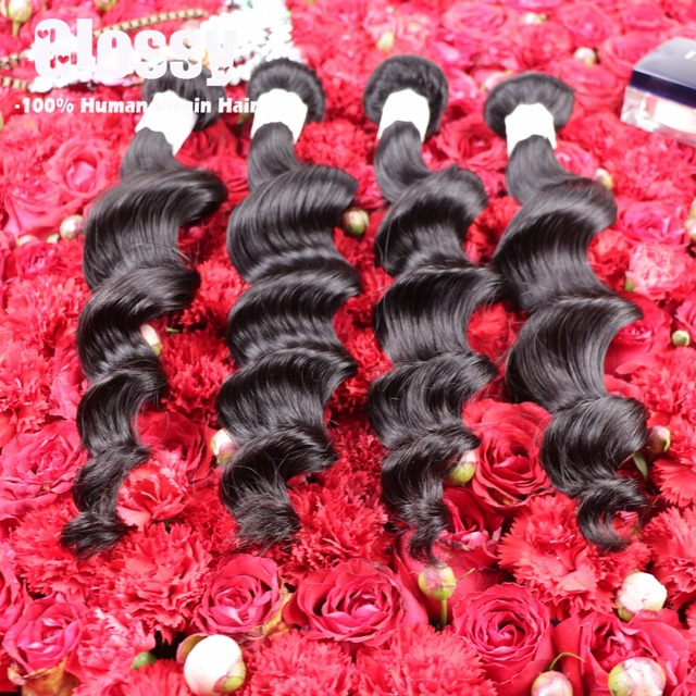 Afee Hair Products Indian Loose Wave Remy Hair Cheveux Bresilien