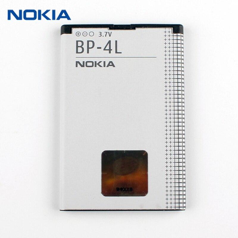 Neue Original Nokia BP-4L telefon batterie für Nokia E61i E63 E90 E95 E71 6650F N97 N810 E72 E52 BP4L 1500 mah