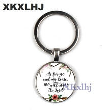 XKXLHJ Philippians 4:13 I Can Do All The Bible Verses Through The Christ Pendant Keychain Inspirational Jewelry Christian Gifts the satanic verses