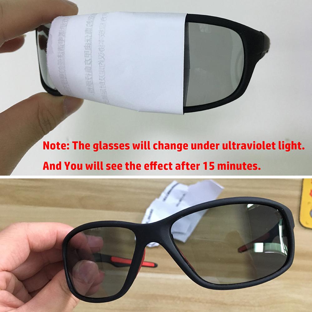 Купить с кэшбэком 2019 Hot Sale Driving Polarized Photochromic Sunglasses Men Chameleon Glasses Women Sunglasses Drivers NEW Gafas de sol hombre