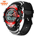 HOSKA Brand Children Digital Watch S Shock Men Military Army 50 Bar Waterproof Calendar LED Sports Wristwatches relogio HD011