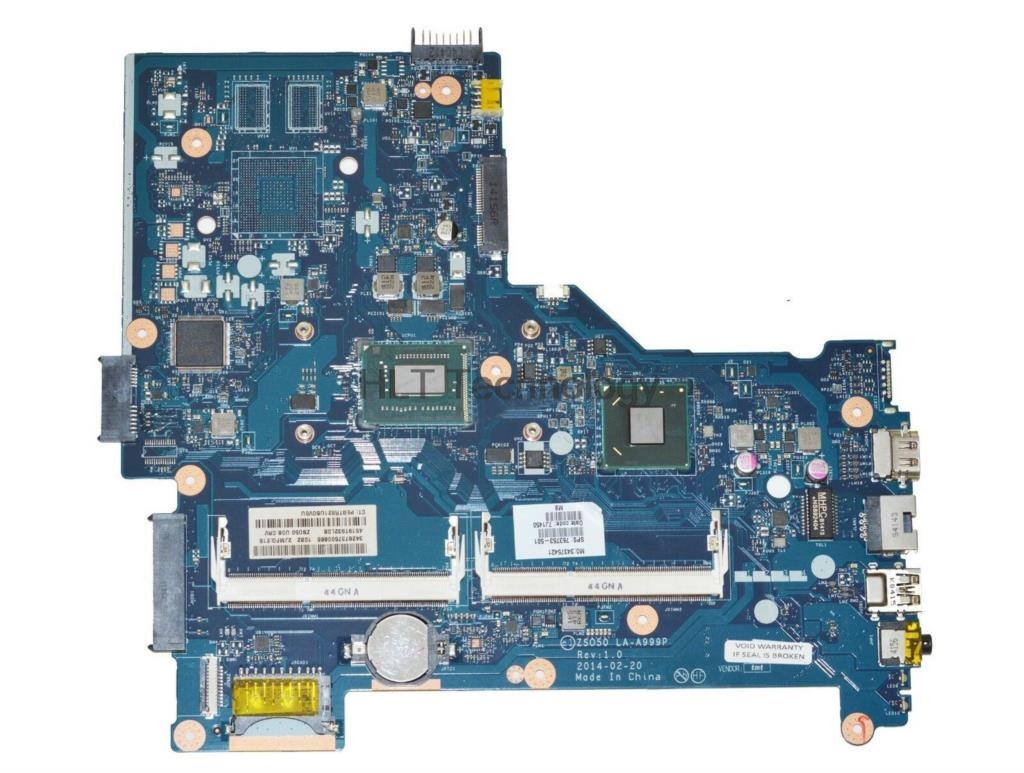 HOLYTIME Laptop Motherboard For HP 250 G3 ZS050 LA-A999P 761537-001 761537-501 with i3-3217U CPU HM76 DDR3