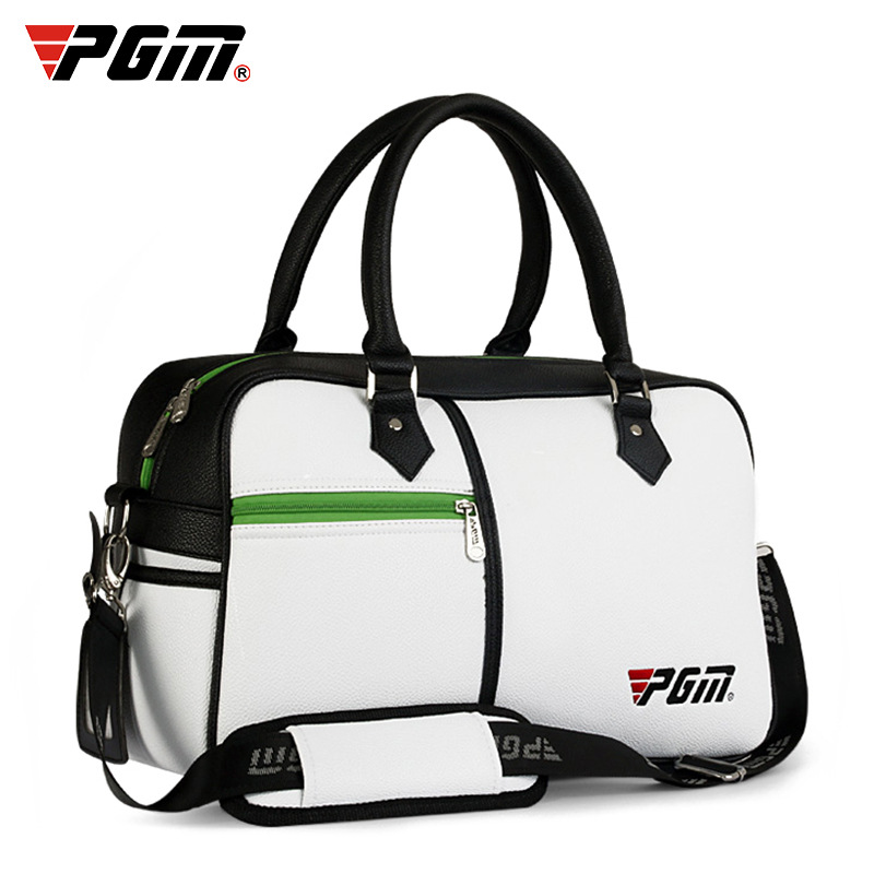 Golf bag golf bag golf bag litchi PU package PGM pgm genuine golf standard durable bag waterproof lady golf capacity standard ball bag embroidered package contain full set club