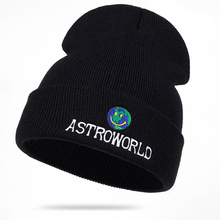 2ffb9aeecc1 VORON 2018 New Knitted Hat embroidery Astroworld Ski Warm Winter Skullies  Beanies