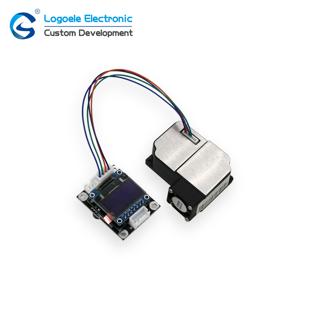 High quality High Precision Laser Dust Sensor Module PM1.0 PM2.5 with display sensor module kit dust sensor pm2 5 detector uni t ut25m high precision laser pm2 5 air quality detection sensor module super dust dust sensors 0 500ug cubi
