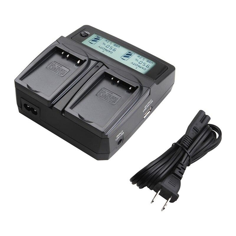 Udoli Universel BLS 5 BLS-5 Chargeur de Batterie Appareil Photo pour Olympus PEN E-PL2, E-PL5, E-PL6, E-PL7, E-PM2, OM-D E-M10, E-M10 II Stylus 1