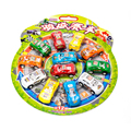 Nuevo 12 UNIDS bebé Niños Juguetes Dinky Coches Modelo Del Coche Tire Hacia Atrás coches Niños Carreras De Carros De Juguete Brinquedo juguetes Para Niños de Regalo