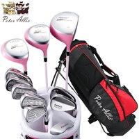 Бренд Питер Allis. 11 шт. дамы гольф клубы выполните Гольф комплекты. Для женщин Гольф клубы полный набор