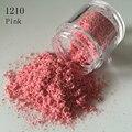 2017 Arte Del Clavo Del Deslumbramiento Sexy leopardo Polvo Glittery de azúcar granulada 3D Pigmento Consejos de Lentejuelas Rosa A Prueba de Polvo de Uñas En Polvo 1210