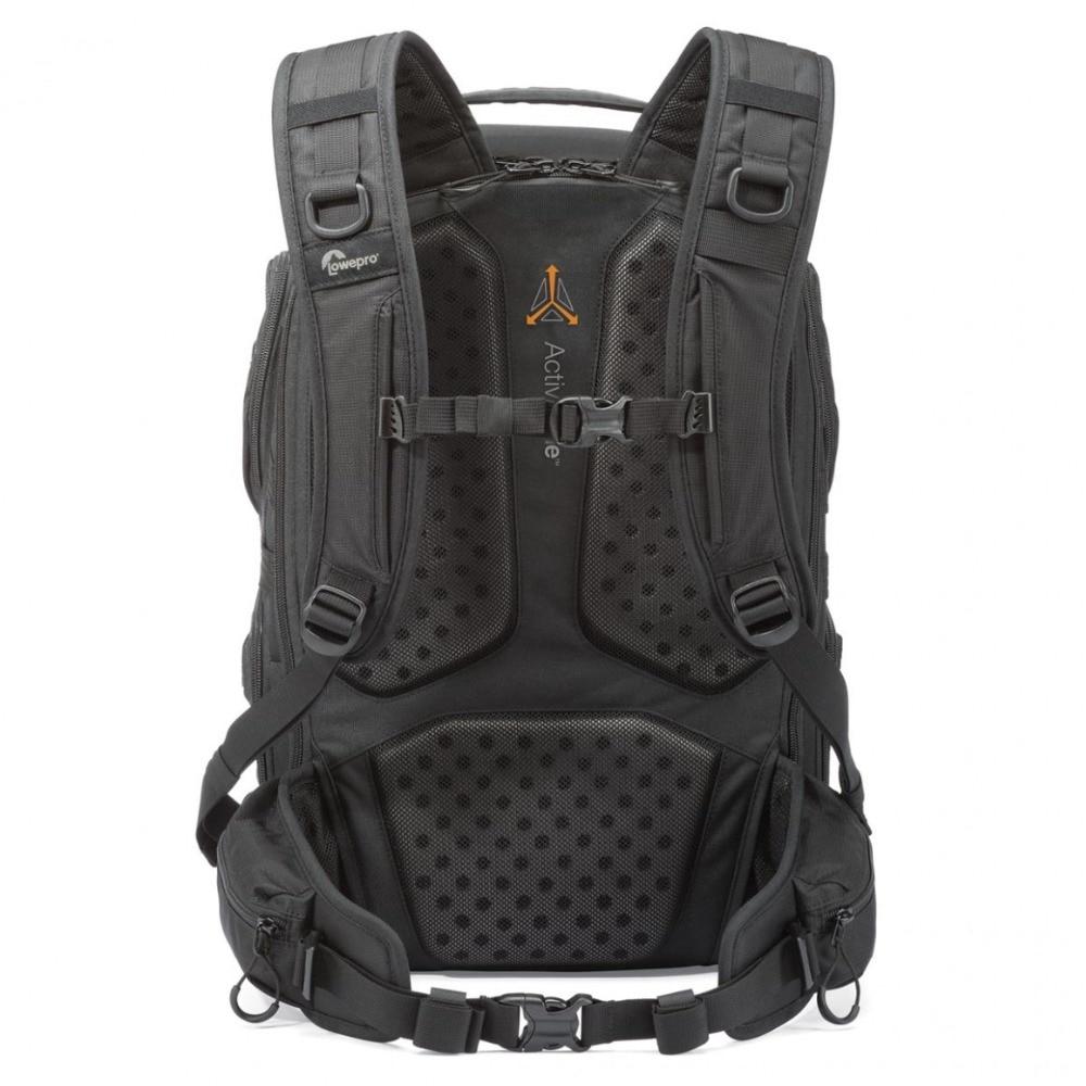 Genuino Lowepro ProTactic 450 aw hombro Cámara bolsa SLR Cámara bolsa Laptop mochila con todas las cubiertas meteorológicas 15,6 pulgadas portátil - 2