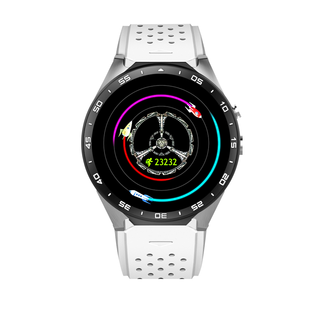 696 NEW kw88 Android 5.1 Smart Watch 512MB + 4GB Bluetooth 4.0 WIFI 3G Smartwatch Phone Wristwatch Support Google Voice GPS Map