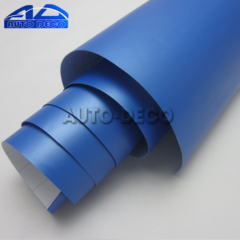 Adhesive Pearl Blue Matte Vinyl Car Motorcycle Scooter Miror Decal Matt Styling Film Wrap Vehicle Motor Decal Sticker