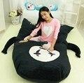 Dorimytrader Japan Anime Spirited Away Faceless Beanbag Huge Plush No-Face Bed Carpet Tatami Sofa 2 Sizes Free Shipping DY60559