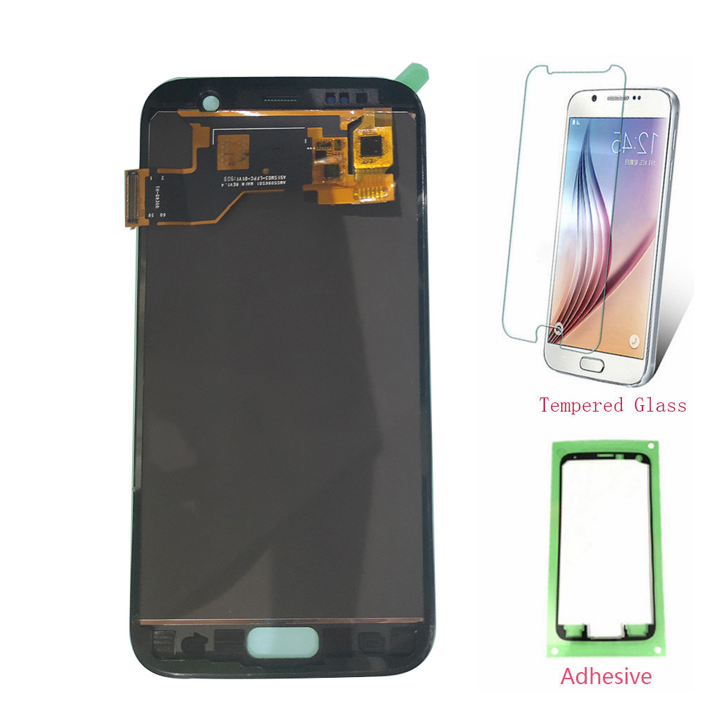 OLED LCD For SAMSUNG Galaxy S7 G930 G930F LCD Display Touch Screen Digitizer For SAMSUNG S7  G930F SM-G930F Assembly TFT Сенсорный экран