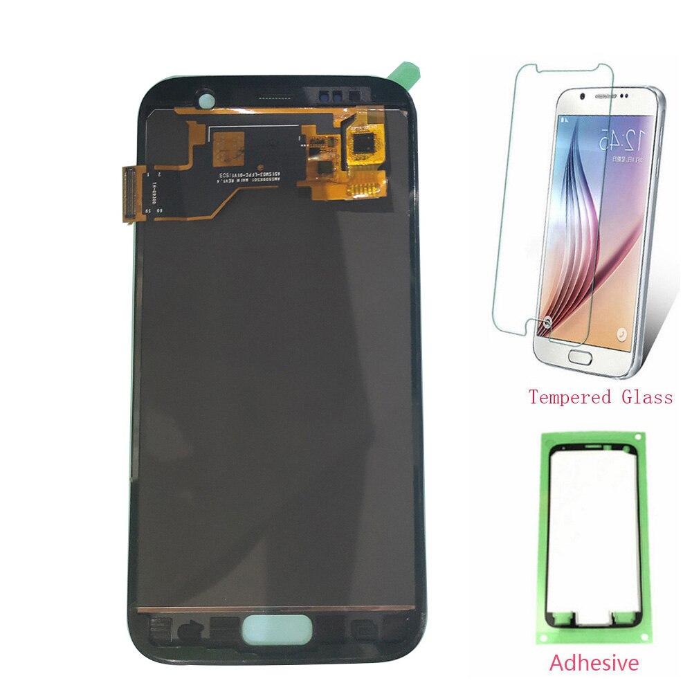 OLED LCD pour SAMSUNG Galaxy S7 G930 G930F LCD écran tactile numériseur pour SAMSUNG S7 G930F SM-G930F assemblée TFT