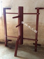 Customized Wall Hung Elm Wing Chun Wooden Dummy Hand Leg, chinese kung fu adjustment wall hanging durable wood dummy
