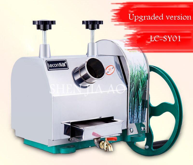 1pc LC SY01 Hand held stainless steel desktop sugar cane machine, cane juice squeezer, cane crusher,Sugarcane juicer machine - 2