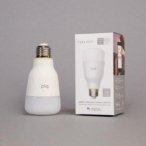 Image 5 - Yeelight חכם LED הנורה כדור מנורת WiFi שלט רחוק על ידי חכם בית APP E27 הנורה 10W 1700k 6500K אור לבן וחם