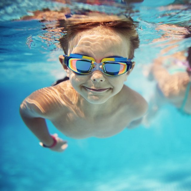 UV Protective Kid's Swimming Goggles
