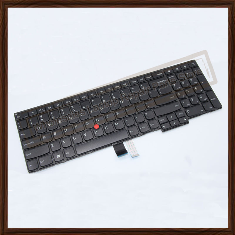 Подробнее о Genuine New Laptop Keyboard Replacement for LENOVO ThinkPad E531 W540 E540 T540P L540 US  keyboard with Backlit Pointing stick new english laptop keyboard for thinkpad e570 us keyboard replacement fru 01ax160