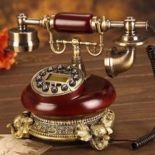 Słoń ev telefonu europa wykonane z drewna antyczne telefon stacjonarny rocznika telefon biuro w domu wyposażone Telefone fijo tanie tanio COFORCARE Przewodowe Telefony xi923 worldwide home office wood kindle display free