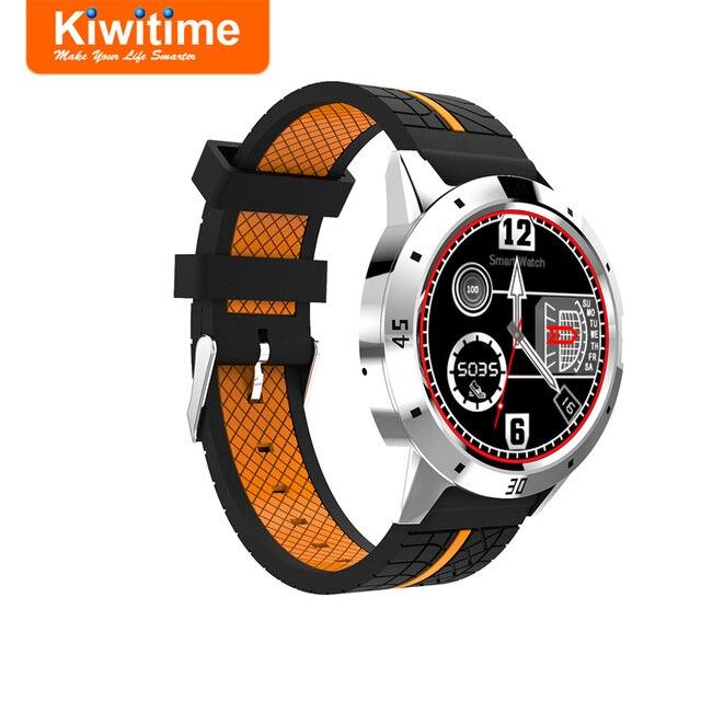 KIWITIME KT96 Bluetooth Smart Watch Connect Men Sports Smartwatch for iPhone 9 X Plus lenovo