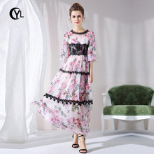 20efe0cb37e1f Buy pink rose plus size dresses and get free shipping on AliExpress.com