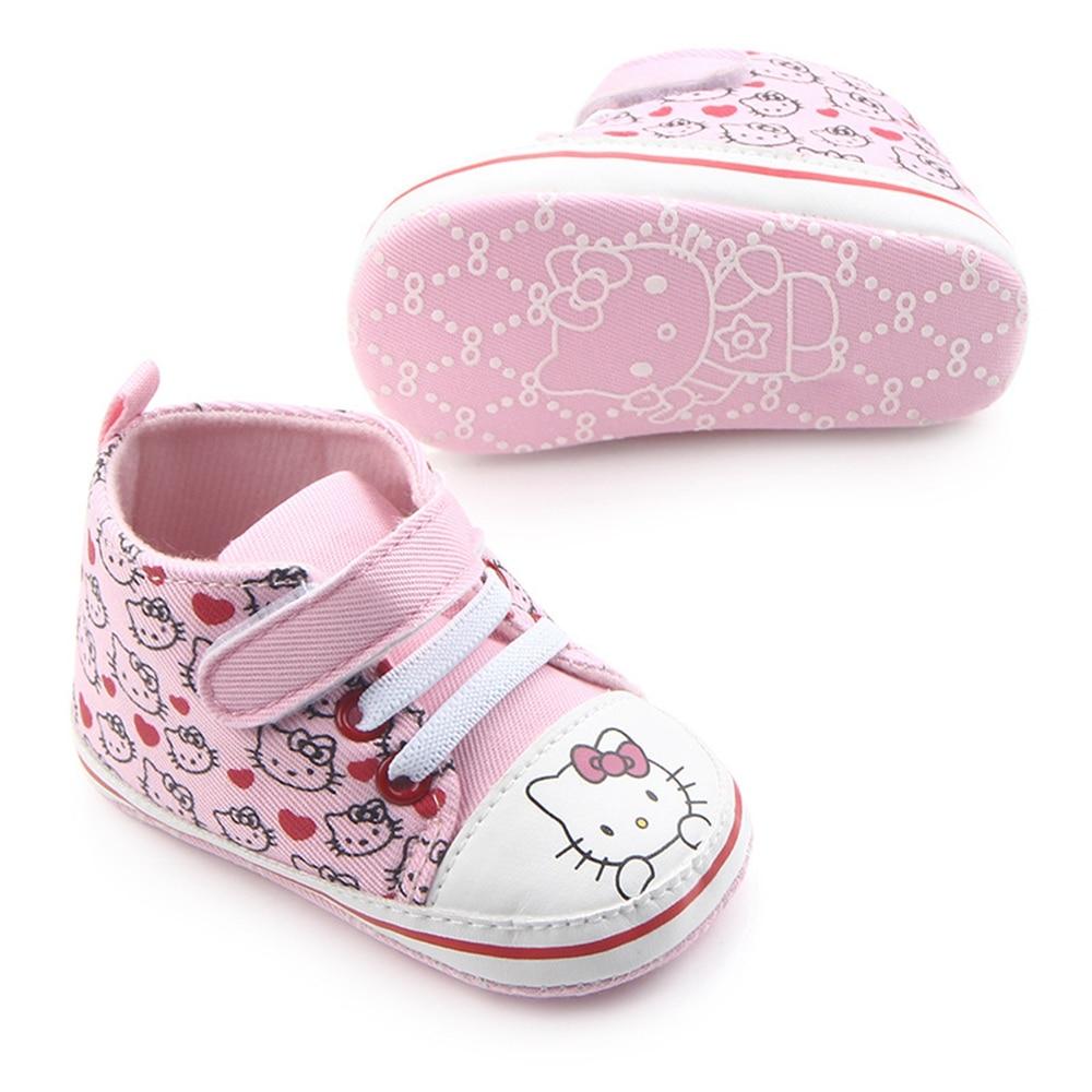 Дзіцячыя прынцэсы Розовые туфлі для - Абутак для малянят - Фота 4