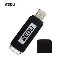 2018 New Arrival REOU 16 GB Intelligent Noise Reduction Recording Pen USB Charging Disk One Key Voice Digital Recording Pen