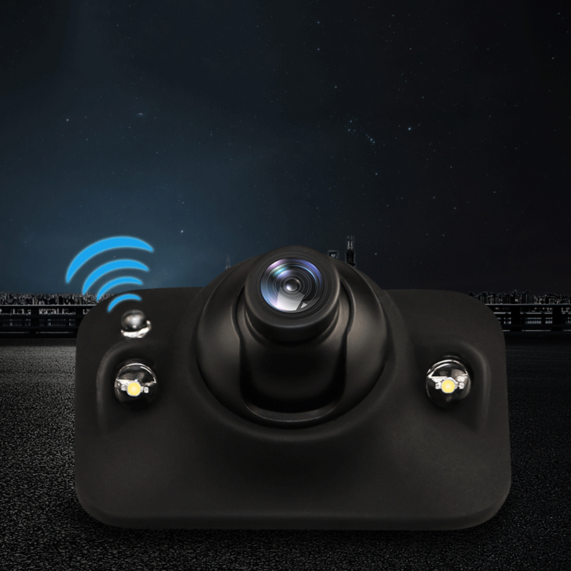 CCD car camera rear / front/left/right side view camera Induction LED night vision 360 Rotation universal car revere camera
