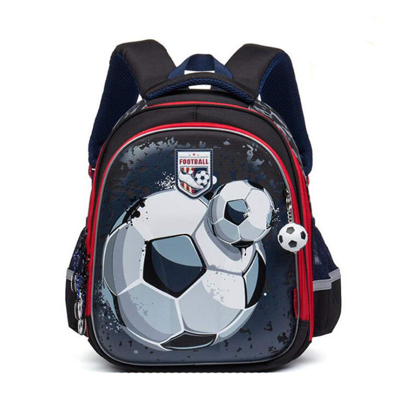 2017 NEW Waterproof nylon Orthopedic Children School Bags boys Cartoon car pattern Prints font b Kids
